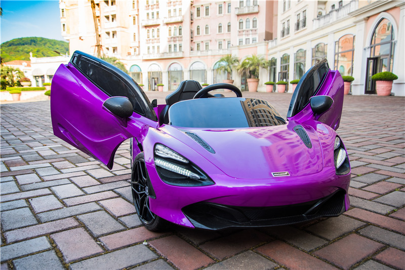 Electric Ride On Cars >> 2019 Kids Ride On Electric Toy Car Mclaren 720S With ...