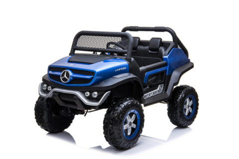 182cb4baff49 Battery Ride On Toy Car With Remote Control- Mercedes Benz UNIMOG · 12Volt  kids electric car