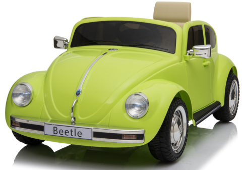 KIDS RIDE ON 12V ELECTRIC VOLKSWAGEN BEETLE BATTERY REMOTE CONTROL 2.4G TOY CAR